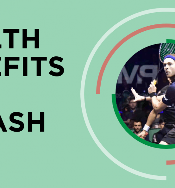 The Top Health and Fitness Benefits of Playing Squash